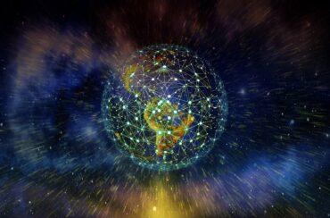 Symbolbild Weltkugel im Weltraum
