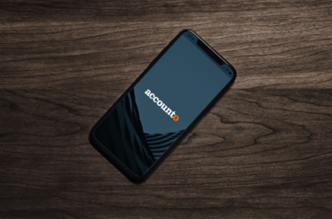 Mobile mit Accounto App